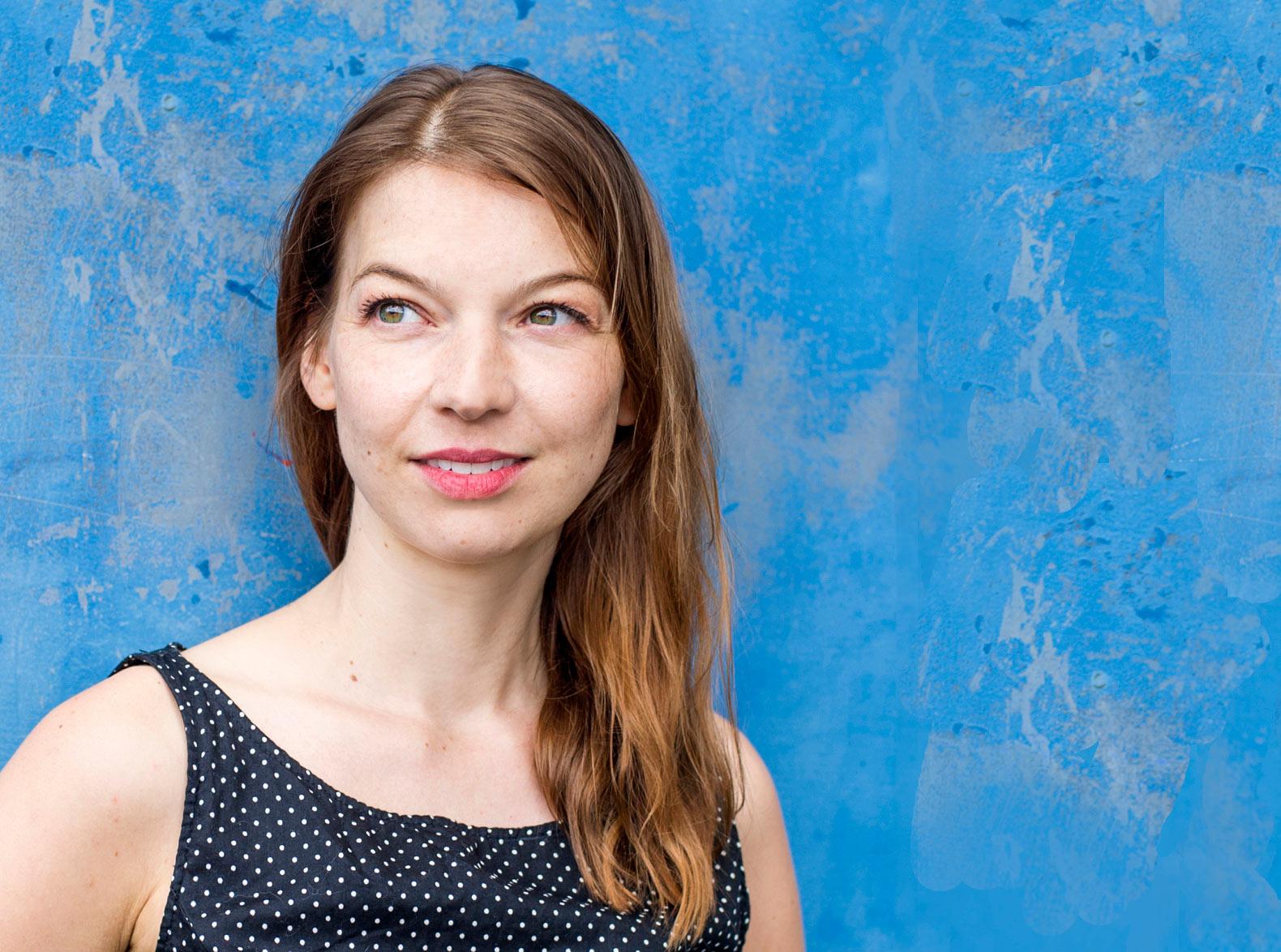 Portrait der Schauspielerin